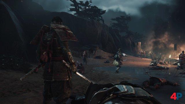 Jin reitet mit den 80 Samurai in die ausweglose Schlacht.