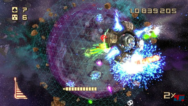 Screenshot - Super Stardust Ultra (PlayStation4)