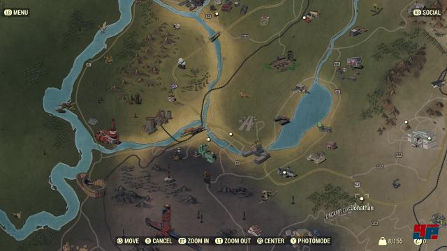 Fallout 76: Details: Weltkarte, C A M P , Atomraketen