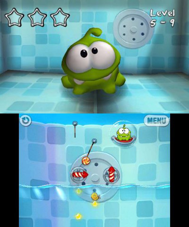 Screenshot - Cut the Rope Trilogy (3DS)