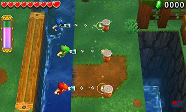 Screenshot - The Legend of Zelda: TriForce Heroes (3DS)