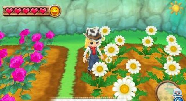 Screenshot - Harvest Moon 3D: A New Beginning (3DS) 92469888