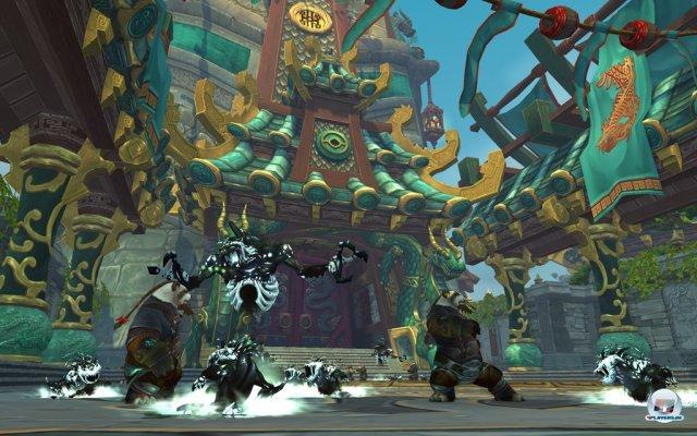 Der Tempel der Jadeschlange wird auch in die Geschichte des Jadewaldes einbezogen.