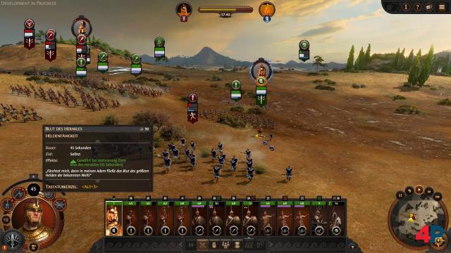 Achilles hat die Gegner demoralisiert. Sie treten die Flucht an.
