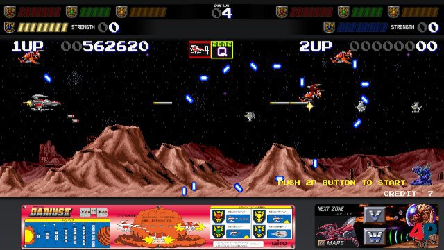 Screenshot - Darius Cozmic Collection Arcade   Console (Switch) 92617402