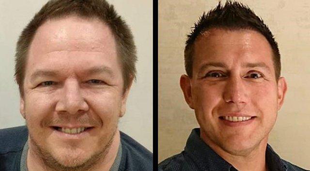 Links Game Director Berry von Lucid Games, rechts Senior Producer McLaughlin von Sony XDev.