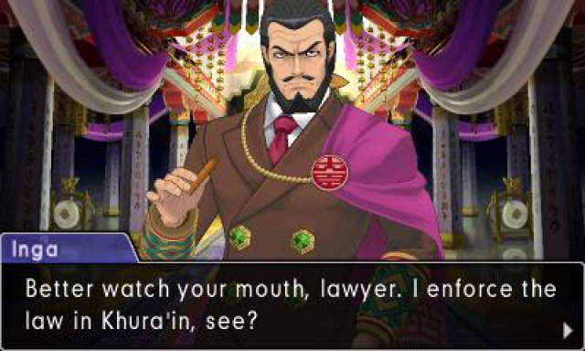 Screenshot - Phoenix Wright: Ace Attorney - Spirit of Justice (3DS) 92533101