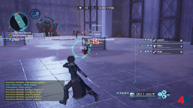Screenshot - Sword Art Online: Fatal Bullet (Switch) 92593805