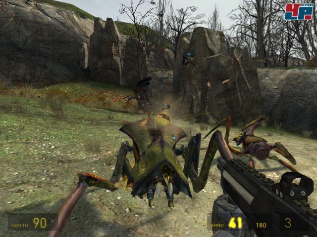Die Antlions sind anfang erbitterte Gegner, später könnt ihr sie allerdings kontrollieren.