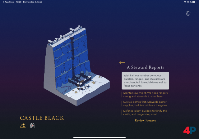 Screenshot - Game of Thrones: Tale of Crows (iPad)