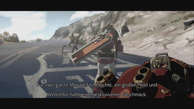 Der Story-Modus beschäftigt euch vier spannenden Stunden lang - leider lassen sich die deutschen Untertitel nicht im Spielmenü deaktivieren.