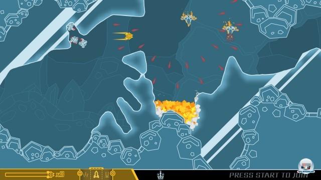 Screenshot - Pixeljunk SideScroller (PlayStation3)