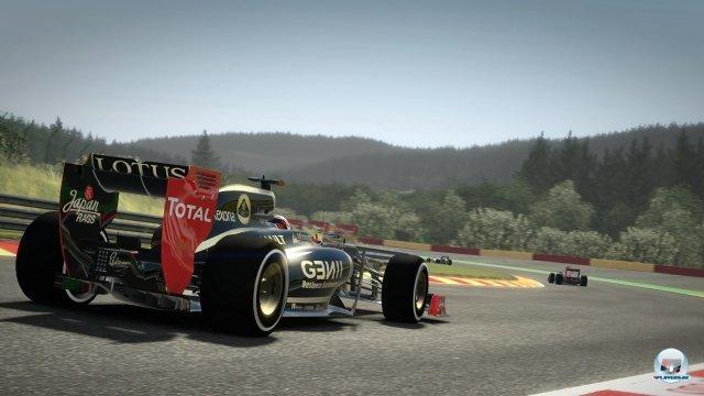 Das Lotus-Team ist mit den Renault-Motoren eine der großen Überraschungen der Saison 2012.