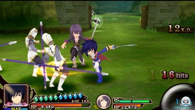 Screenshot - Tales of the Heroes: Twin Brave (PSP) 2315157