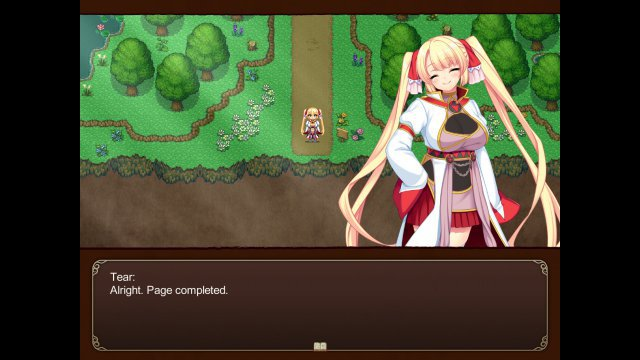 Screenshot - Tear and the Library of Labyrinths (PC)