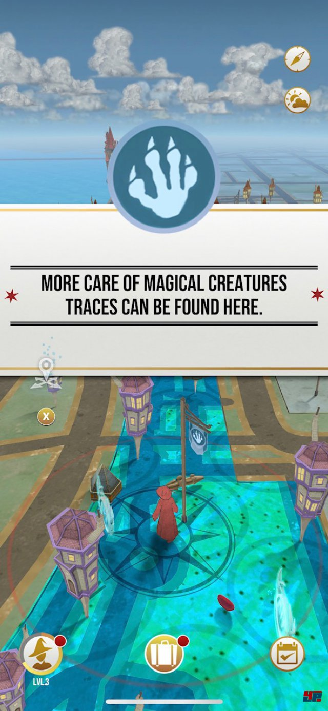 Screenshot - Harry Potter: Wizards Unite (Android)