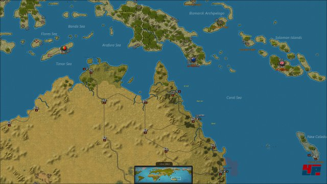 Screenshot - Strategic Command WW2: World at War 2 (PC)
