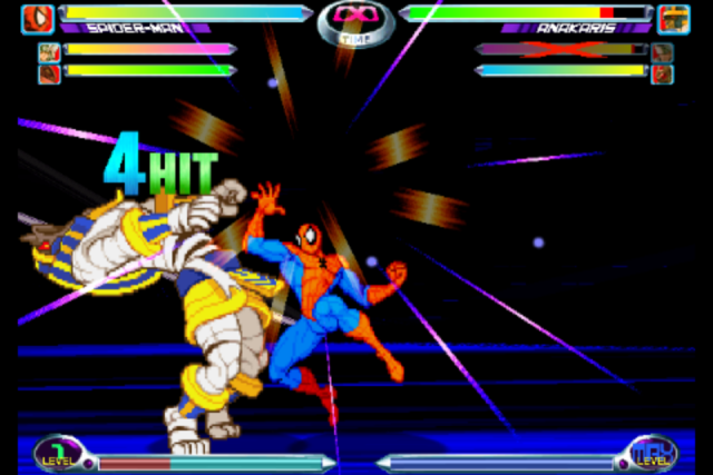 Screenshot - Marvel vs. Capcom 2 (iPhone)