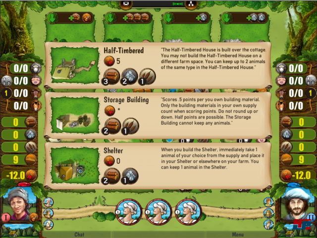 Screenshot - Agricola (Linux)