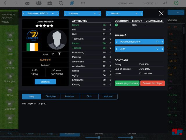 Screenshot - Pro Rugby Manager 2015 (iPad) 92486528