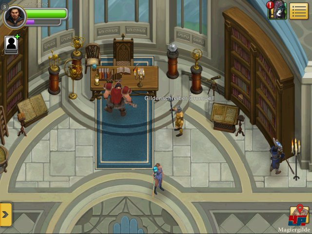 Screenshot - Ultima Forever: Quest for the Avatar (iPad)
