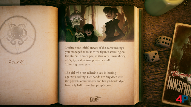 Screenshot - The Innsmouth Case (PC)