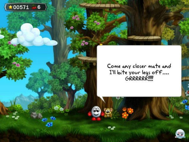 Screenshot - Dizzy: Prince of the Yolkfolk (iPhone) 2290867