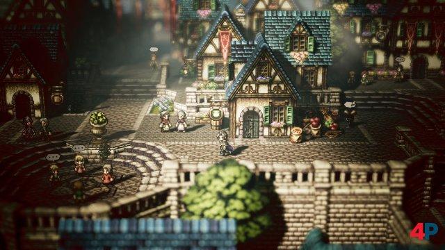 Der eigenwillige Grafikstil, der Pixelsprites mit 3D-Dioramen mischt, hinterlässt auch am Rechner einen guten Eindruck.