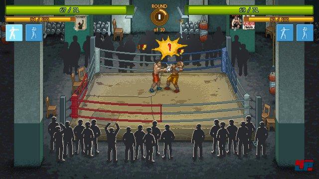 Auch wenn der Eindruck entstehen könnte, ist Punch Club ganz weit von Spielen wie Streets of Rage entfernt.