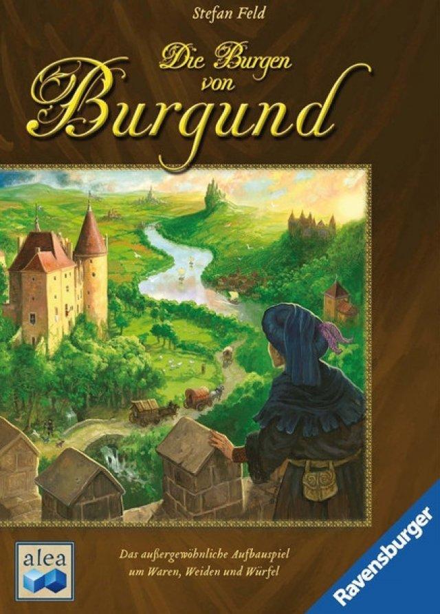 Die Burgen von Burgund kostet knapp 25 Euro, ist 2011 auf Deutsch erschienen und für zwei bis vier Spieler ausgelegt.