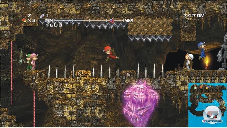 Mario, Pitfall und Ghostbusters: Das Spieldesign ist abwechslungsreich.