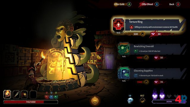 Screenshot - Curse of the Dead Gods (PC)
