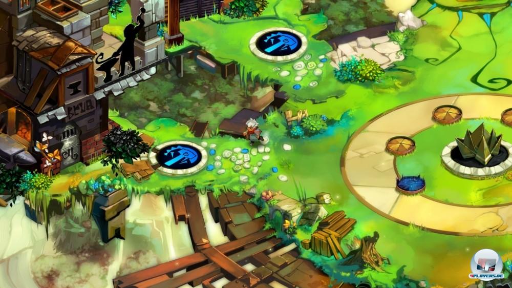 Die Bastion ist der Namen gebende Dreh- und Angelpunkt des Action-Rollenspiels.
