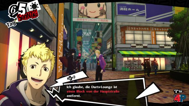 Mit Kichijoji kann sogar ein komplett neues Stadtareal in Persona 5 Royal erkundet werden.