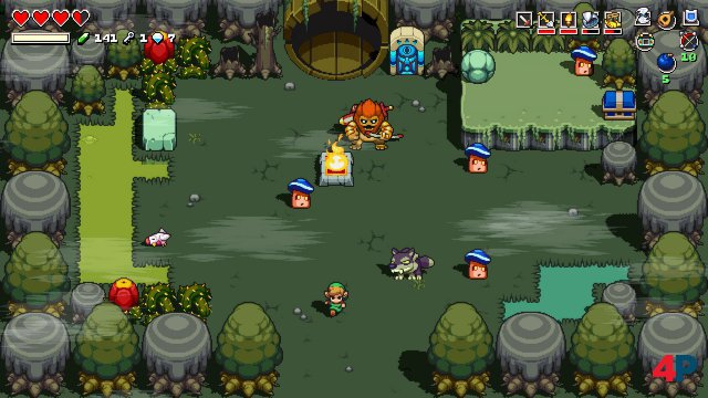 Screenshot - Cadence of Hyrule - Crypt of the NecroDancer Featuring The Legend of Zelda (Switch)