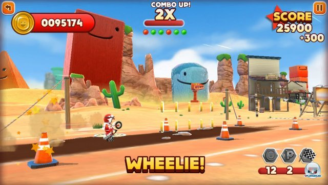 Screenshot - Joe Danger Touch (iPhone) 92439422