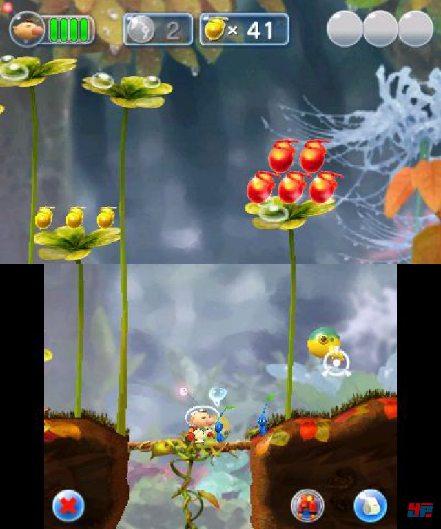 Screenshot - Hey! Pikmin (3DS)