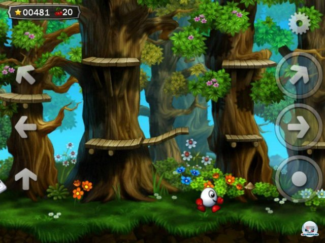 Screenshot - Dizzy: Prince of the Yolkfolk (iPhone) 2290877
