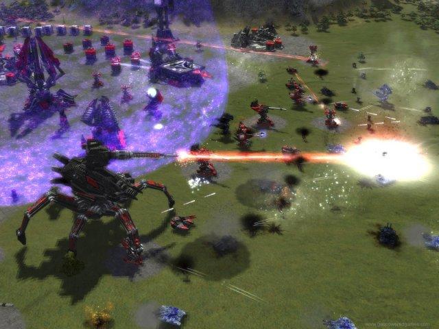 14. Supreme Commander (2006/2007) <br><br> Gas Powered Games, das mit Wildman auf Kickstarter gerade ums Überleben kämpft, war zwar ebenfalls nie ein Teil von THQs Studiofamlie. Doch mit Supreme Commander bereicherten die Mannen um Chris Taylor das Portfolio des Publishers um einen exzellenten RTS-Titel, der auch heute noch zu den besten Vertretern des Genres zählt. Der Nachfolger, der über Square-Enix erschien, ließ dagegen viel zu wünschen übrig. 92443197
