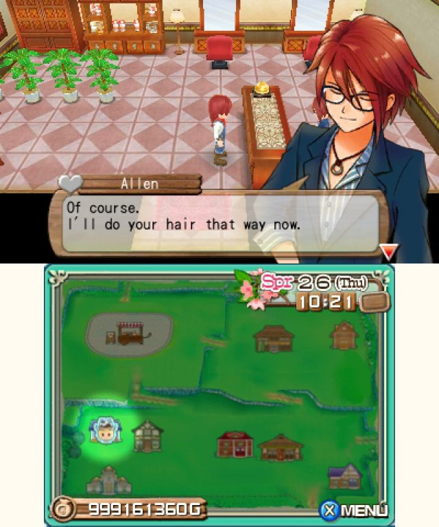 Screenshot - Harvest Moon 3D: A New Beginning (3DS) 92469874