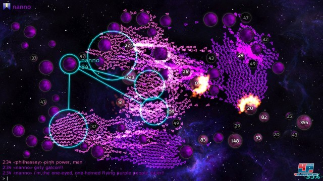 Screenshot - Galcon Fusion (iPhone)