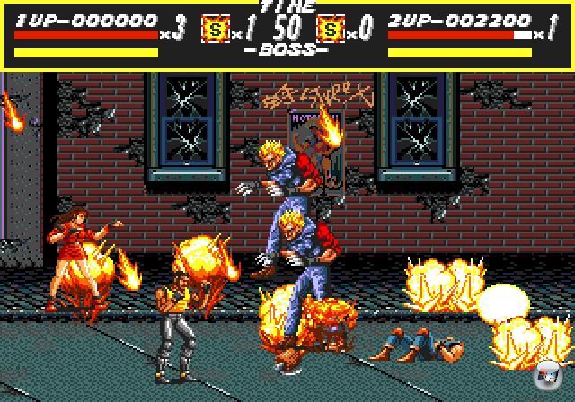 <br><br>...Streets of Rage (1991) - der erste Teil war zugegebenermaßen noch »nur« gut, der zweite und dritte hingegen haben Beat-em-Up-Maßstäbe gesetzt! 1876103