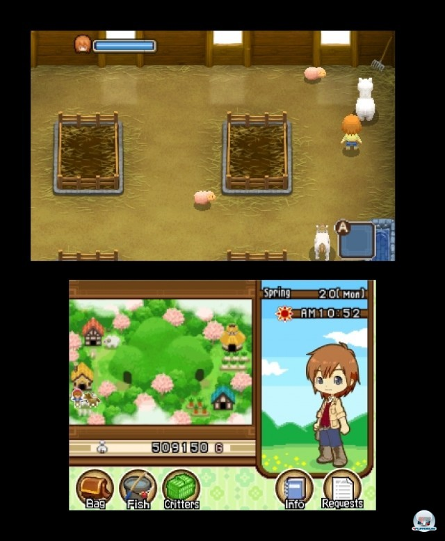Screenshot - Harvest Moon: The Tale of Two Towns (3DS) 2232263