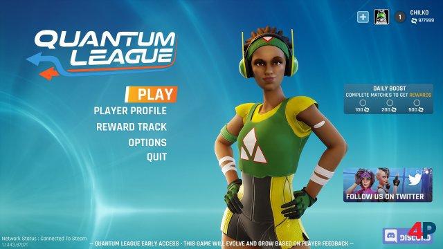 Screenshot - Quantum League (PC)
