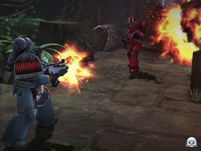 Screenshot - Warhammer 40.000: Space Wolf (Android) 92466438
