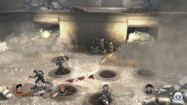 Bis zu vier Spieler können sich sowohl off- als auch online ins Getümmel stürzen.