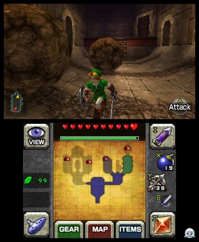 Screenshot - The Legend of Zelda: Ocarina of Time 3D (3DS) 2230663