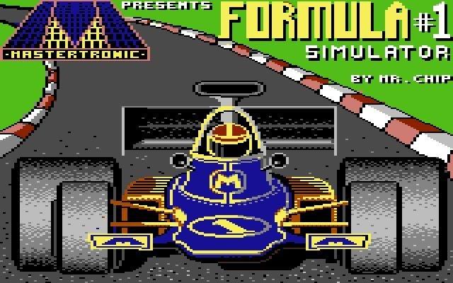 Formula One Simulator (1985) <br><br> Während Sega mit seinen F1-Spielen vor allem flotten Arcade-Spaß bieten wollte, schrieben sich andere Hersteller den Simulationsanspruch auf die schwarz/weiß karierte Fahne. So auch Spirit Software, die 1985 den Formula One Simulator für C-64, Amstrad CPC und den MSX auf die Piste schickten. Immerhin wurden bereits Strecken wie Monza, Monaco und Silverstone integriert und es ging unter trockenen sowie nassen Bedingungen ins Rennen. 2270252