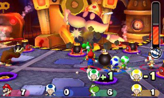 Screenshot - Mario Party: Star Rush (3DS)