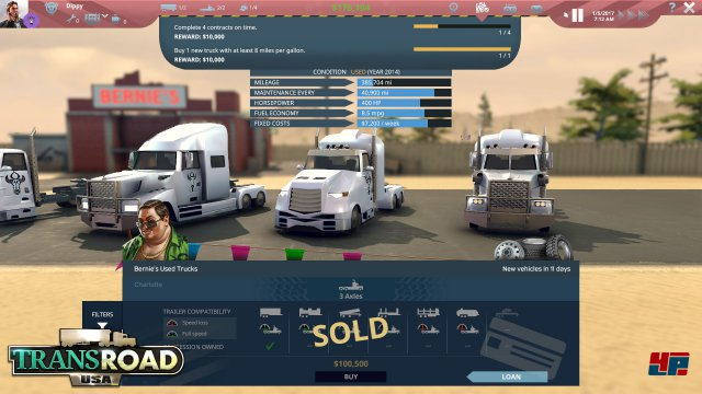 Screenshot - TransRoad: USA (Mac) 92553993